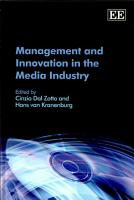 Management and Innovation in the Media Industry PDF