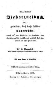 Allgemeines Vieharzneibuch. 6. sehr verm. und verb. Aufl