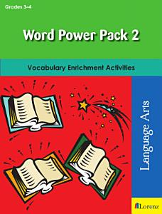 Word Power Pack 2 for Grades 3 4 PDF