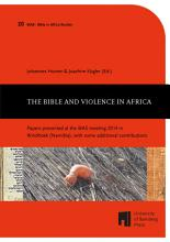 The Bible and Violence in Africa PDF