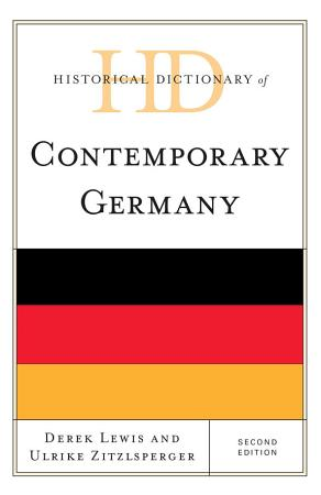 Historical Dictionary of Contemporary Germany PDF