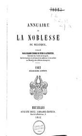 Annuaire de la noblesse de Belgique: Volume16