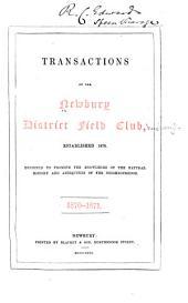 Transactions: Volume 1