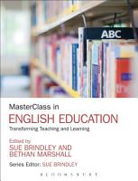 MasterClass in English Education PDF