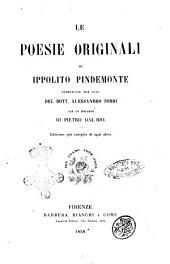 Le poesie originali di Ippolito Pindemonte pubblicate per cura [di] Alessandro Torri