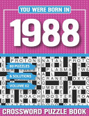 You Were Born In 1988 Crossword Puzzle Book