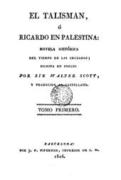El talismán, 1: ó Ricardo en Palestína