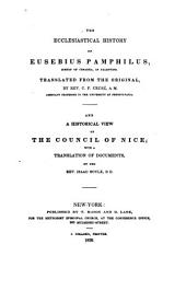 The ecclesiastical history of Eusebius Pamphilus