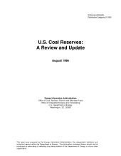 U.S. Coal Reserves: A Review and Update