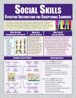 Social Skills  Effective Instruction for Exceptional Learners PDF