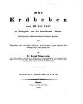 Das Erdbeben vom 29 juli 1846 im Rheingebiet