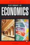 The Penguin Dictionary of Economics PDF