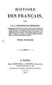 Histoire des Français: Volume1