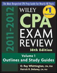 Wiley Cpa Examination Review Outlines And Study Guides Book PDF