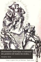 Dictionnaire historique et raisonné des peintres de toutes les écoles depuis l'origine de la peinture jusqu'à nos jours ...