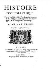 Tome Treizième. Depuis l'an 1053. jusques à l'an 1099: Volume 13