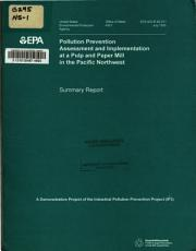 Pollution Prevention Assessment and Implementation at a Pulp and Paper Mill in the Pacific Northwest PDF
