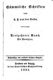 Sämmtliche Schriften: Bände 13-15