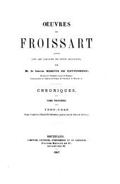 Chroniques de Froissart: 1339-1342