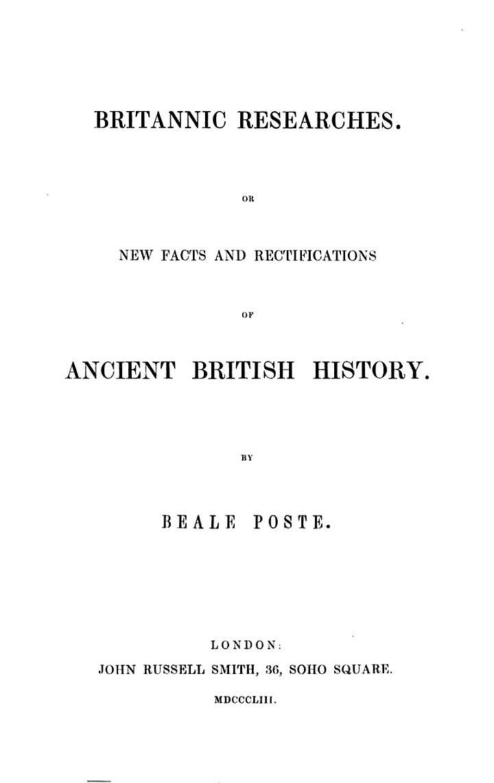 Britannic Researches