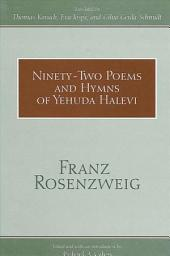 Ninety-Two Poems and Hymns of Yehuda Halevi