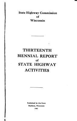 Biennial Report   Highway Commission PDF
