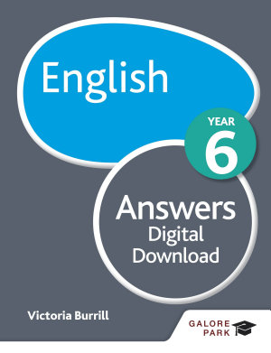 English Year 6 Answers PDF