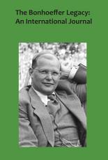 The Bonhoeffer Legacy PDF