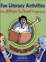 Fun Literacy Activities for After school Programs PDF