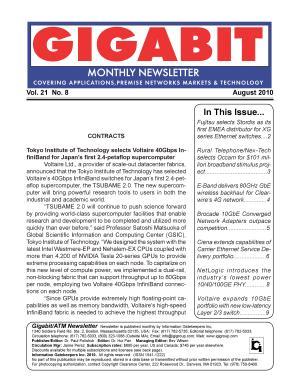 Gigabit ATM Monthly Newsletter 08 10 PDF