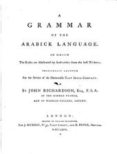A Grammar of the Arabick Language