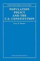 Population Policy and the U S  Constitution