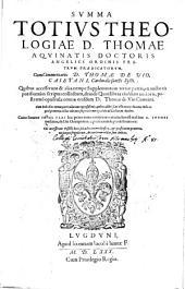 Summa Totius Theologiae: Volume 1