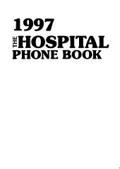 1996 The Hospital Phone Book