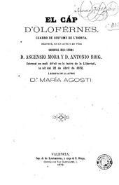 El cáp d'oloférnes: cuadro de costums de l'horta : bilingüe, en un acte y en vérs