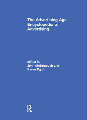 The Advertising Age Encyclopedia of Advertising PDF