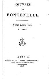 Oeuvres de Fontenelle: Volume2