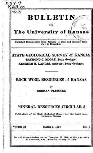 Mineral Resources Circular
