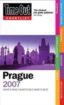 Time Out Shortlist 2007 Prague PDF