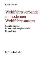 Wohlfahrtsverbände in modernen Wohlfahrtsstaaten: Soziale Dienste in historisch-vergleichender Perspektive