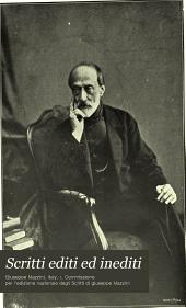 Scritti editi ed inediti di Giuseppe Mazzini