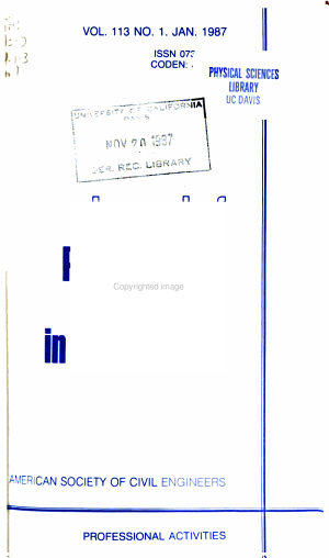 Journal of Professional Issues in Engineering