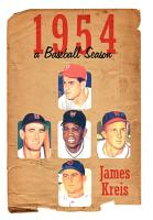1954    A Baseball Season PDF