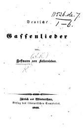 Deutsche Gassenlieder