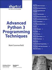 Advanced Python 3 Programming Techniques