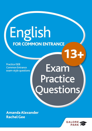 English for Common Entrance at 13  Exam Practice Questions PDF