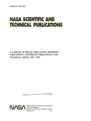 NASA Scientific and Technical Publications PDF