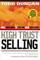 High Trust Selling PDF