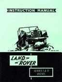 Land Rover Series I and II Diesel Handbook