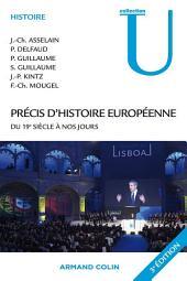 Précis d'histoire européenne: du 19e siècle à nos jours